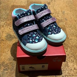 See Kai Run Toddler Girls Kya Shoes Size 8